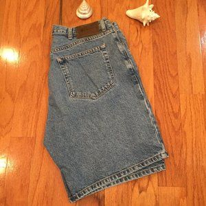Calvin Klein Mens Shorts Size 36 Blue Jean Pockets